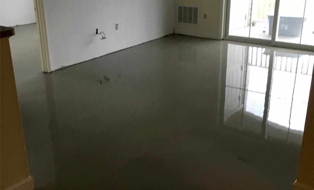 Self Leveling Flooring Miami : Pagelines self levelled floor g robinson flooring inc