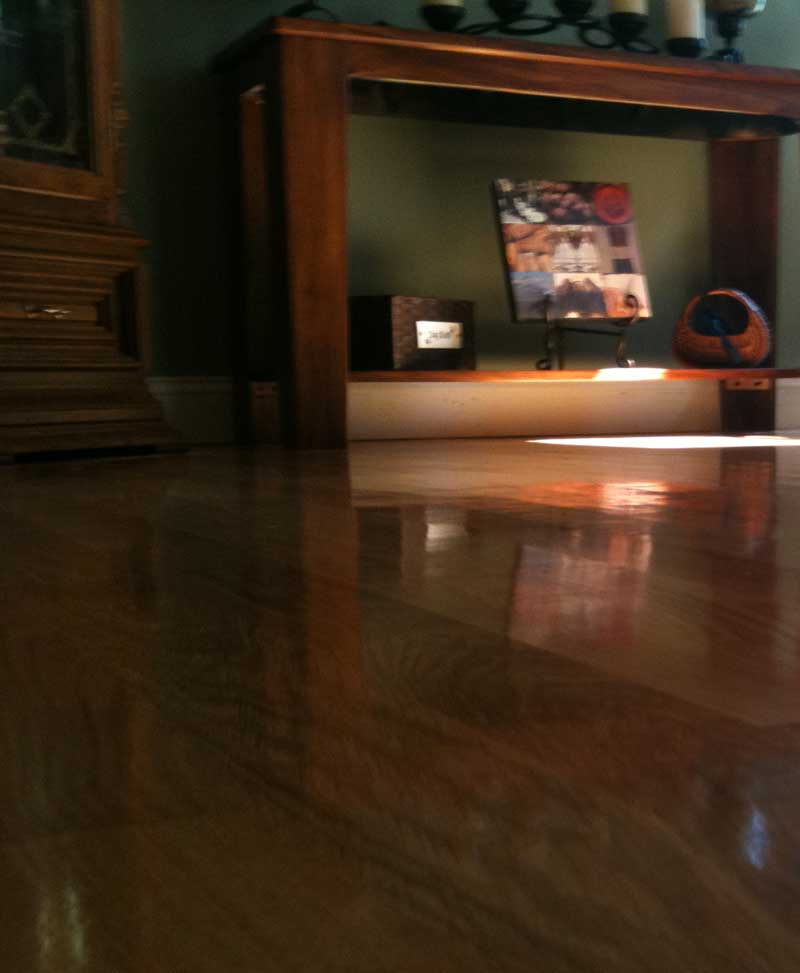 residential oak floor